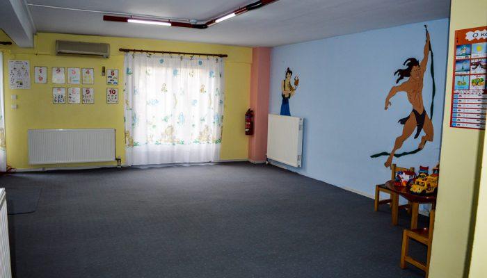 Στρυμφόσπιτο αίθουσα παιχνιδιού